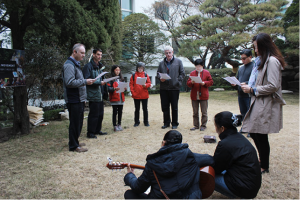 Prayer gathering in a Korean parish of the Columbans.
