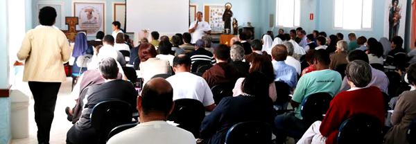 Meeting of the Franciscan Family of Brazil.