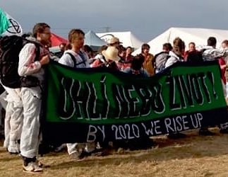 Laudato Si' Circle Prayer Service at Czech Climate Camp